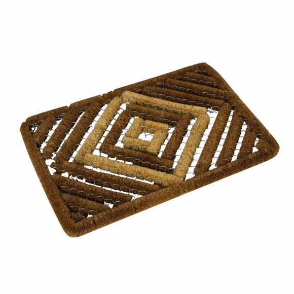SWHF Coir Shoe and Boot Scrapper Mat: Ideal for Outdoor Lawn Entrances