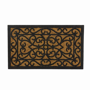 <h4>SWHF Coir and Rubber Door Mat: Virgin Rubber and Extremely Durable (60X35 cm)</h4> - SWHF