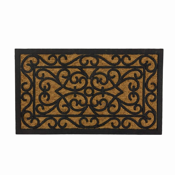 SWHF Rubber and Coir Mat: Rectangle - SWHF