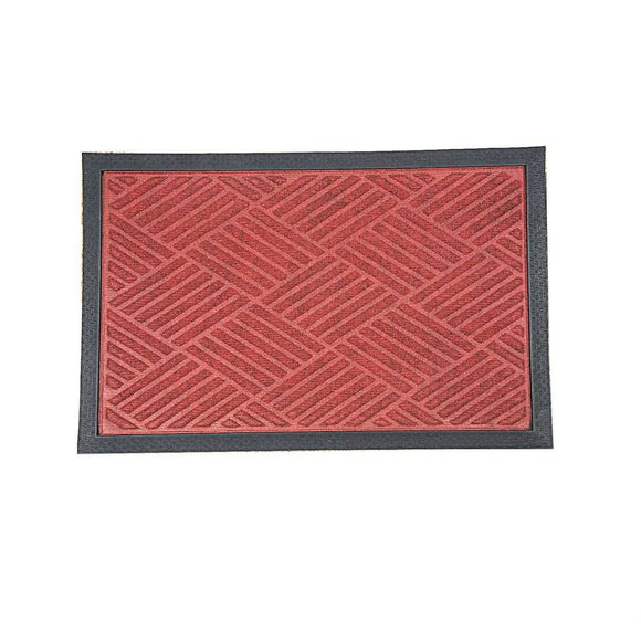 SWHF Premium PP and Rubber Door and Floor Mat Virgin Rubber and Extremely Durable : Red Diamond - SWHF