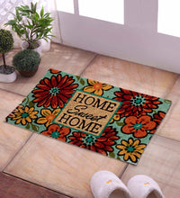 Load image into Gallery viewer, SWHF Coir Door Mat with Anti Skid Rubberized Backing: Multi (Home Sweet Home) - SWHF