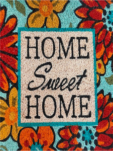 <h4>SWHF Premium Coir and Rubber Quirky Design Door and Floor Mat (40 x 120 cm, Home Sweet Home)</h4>