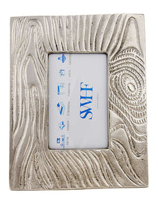 SWHF White Metal Hammered Finish Photo frame and Picture frame - SWHF