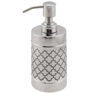 SWHF High Grade Stainless Steel Etched Soap Dispenser and Soap Pump - SWHF