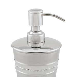 SWHF High Grade Stainless Steel Beeded Soap Dispenser and Soap Pump - SWHF