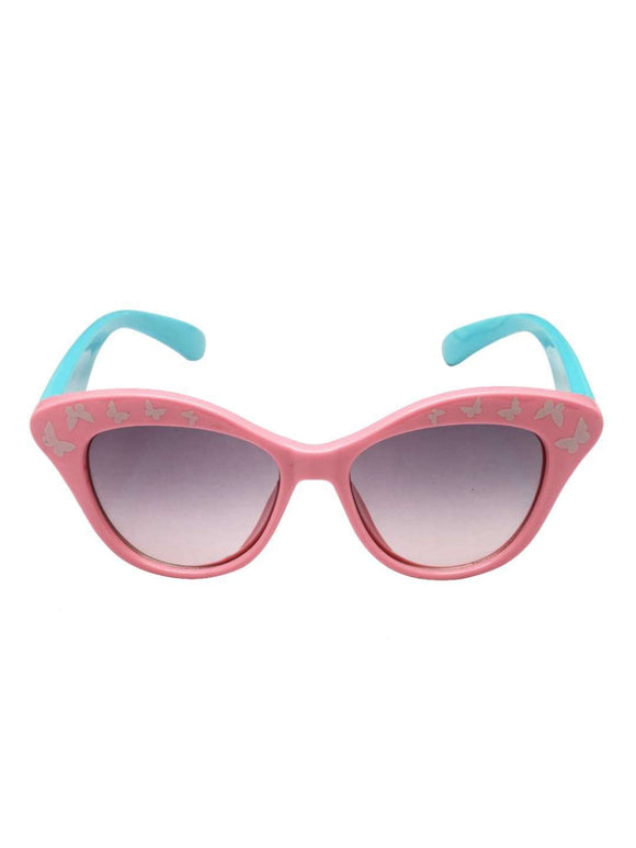 Stol'n Kids Pink and Blue Cat Eye Sunglasses - SWHF