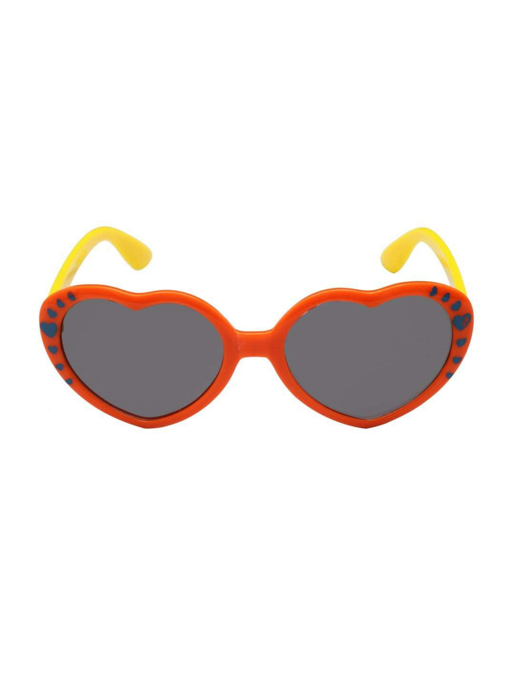Stol'n Kids Orange and Yellow Heart Sunglasses - SWHF