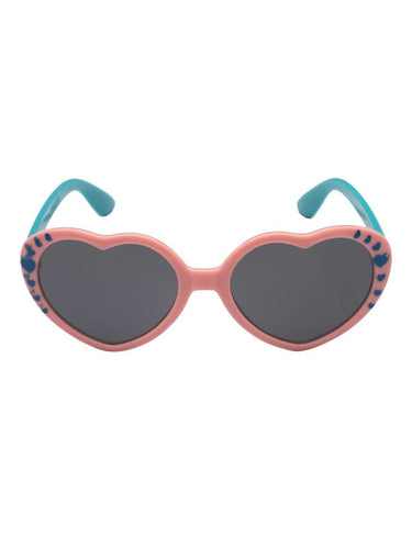 Stol'n Kids Pink and Blue Heart Sunglasses - SWHF