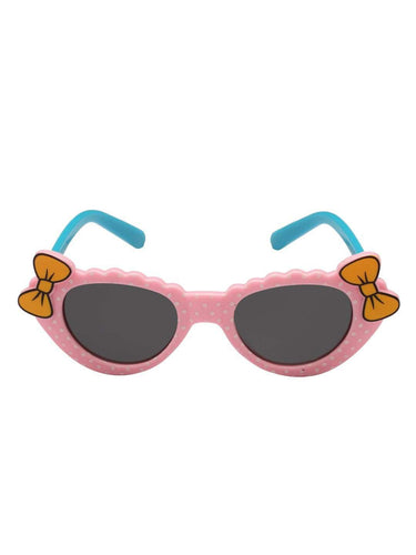 Stol'n Kids Pink and Blue Bow Cat Eye Sunglasses - SWHF