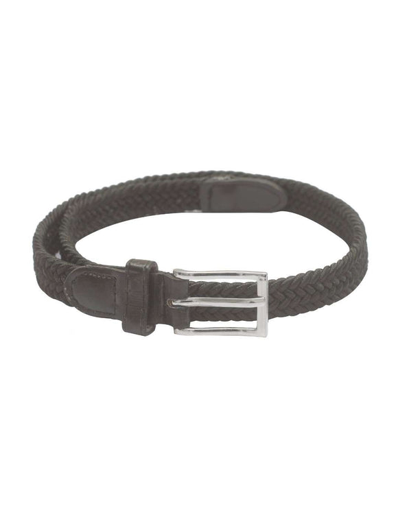 Stol'n Kids Stretch Plain Black Unisex Belt - SWHF