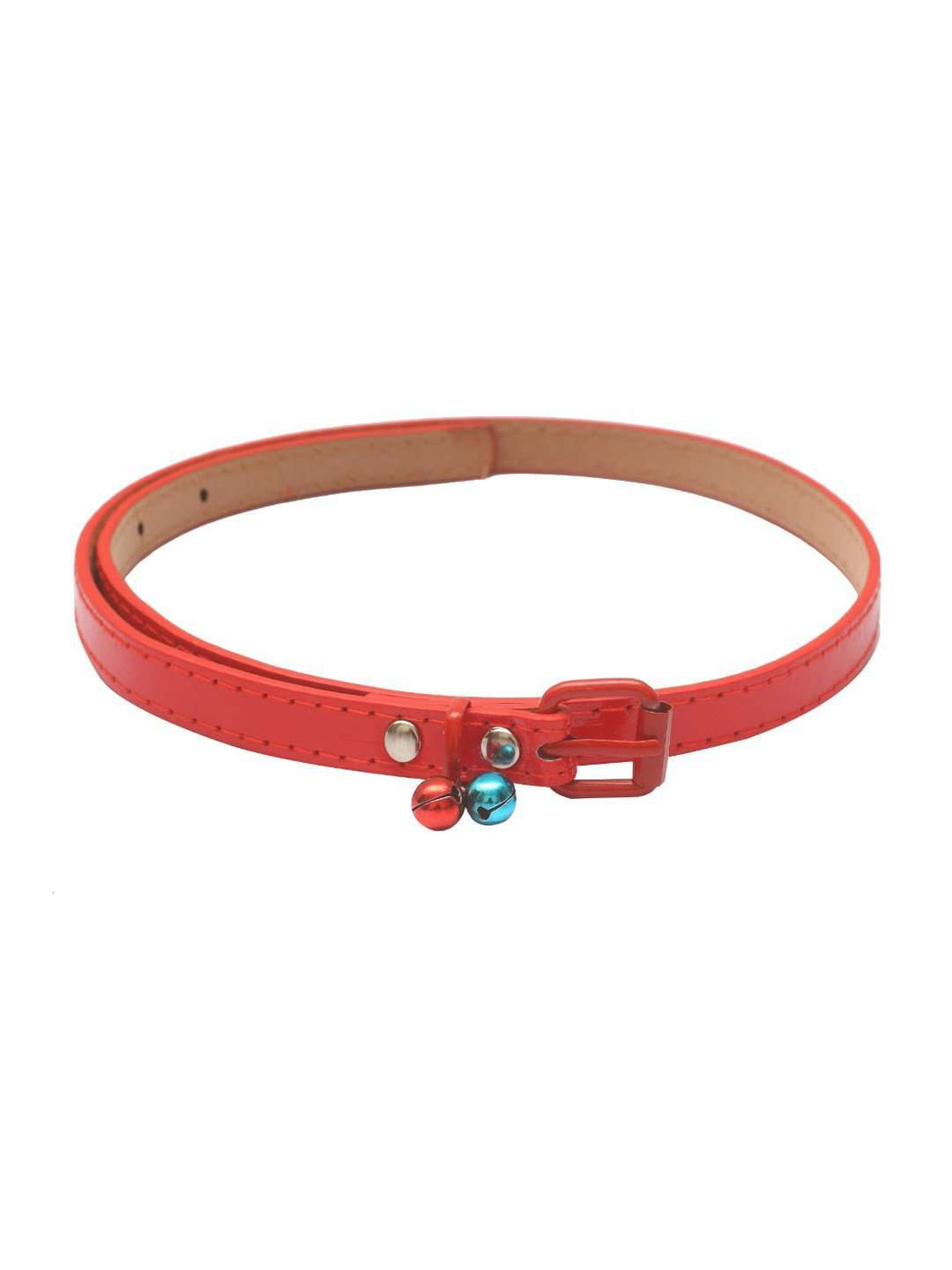 Stol'n Kids Plain Red Belt with Bells - SWHF