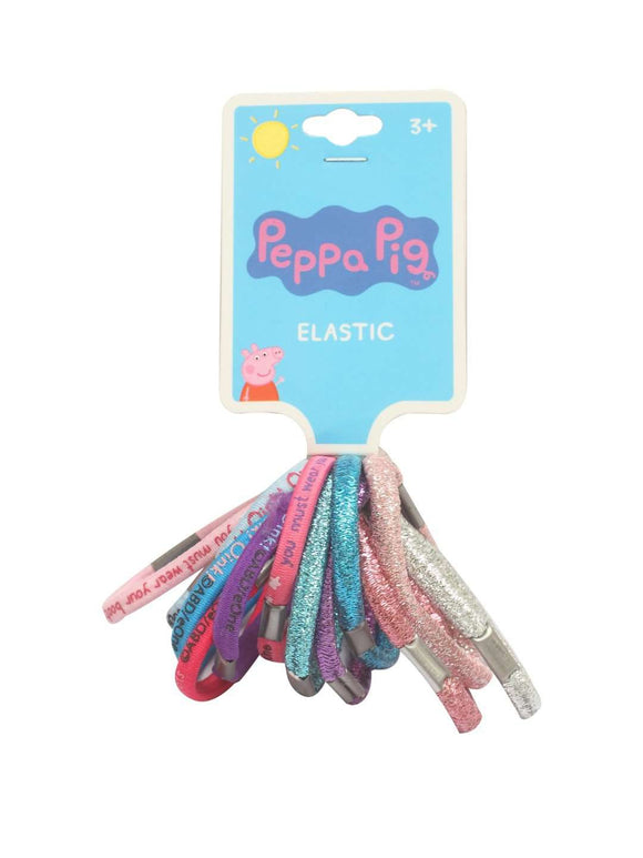 Stol'n Original Licensed Peppa Pig Set of Shiny Rubberband: Multi - SWHF