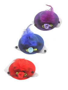 Stol'n Set of Purple, Blue and Red Hat Clip :Purple, Blue and Red - SWHF