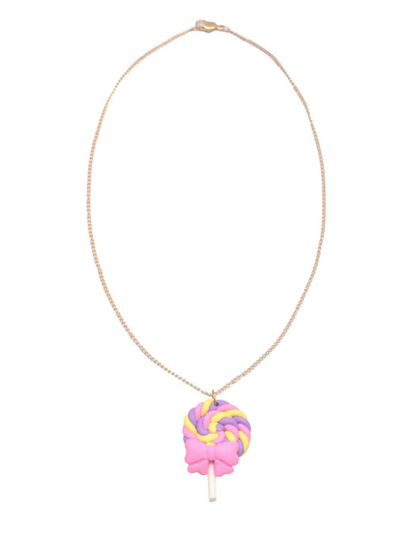 Stol'n Kids Gold Chain Necklace with Candy Pendant :Multi - SWHF