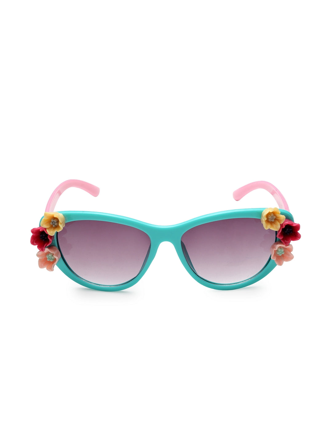 Stol'n Premium Attractive Fashionable UV-Protected Cat Eye Sunglasses - Aqua