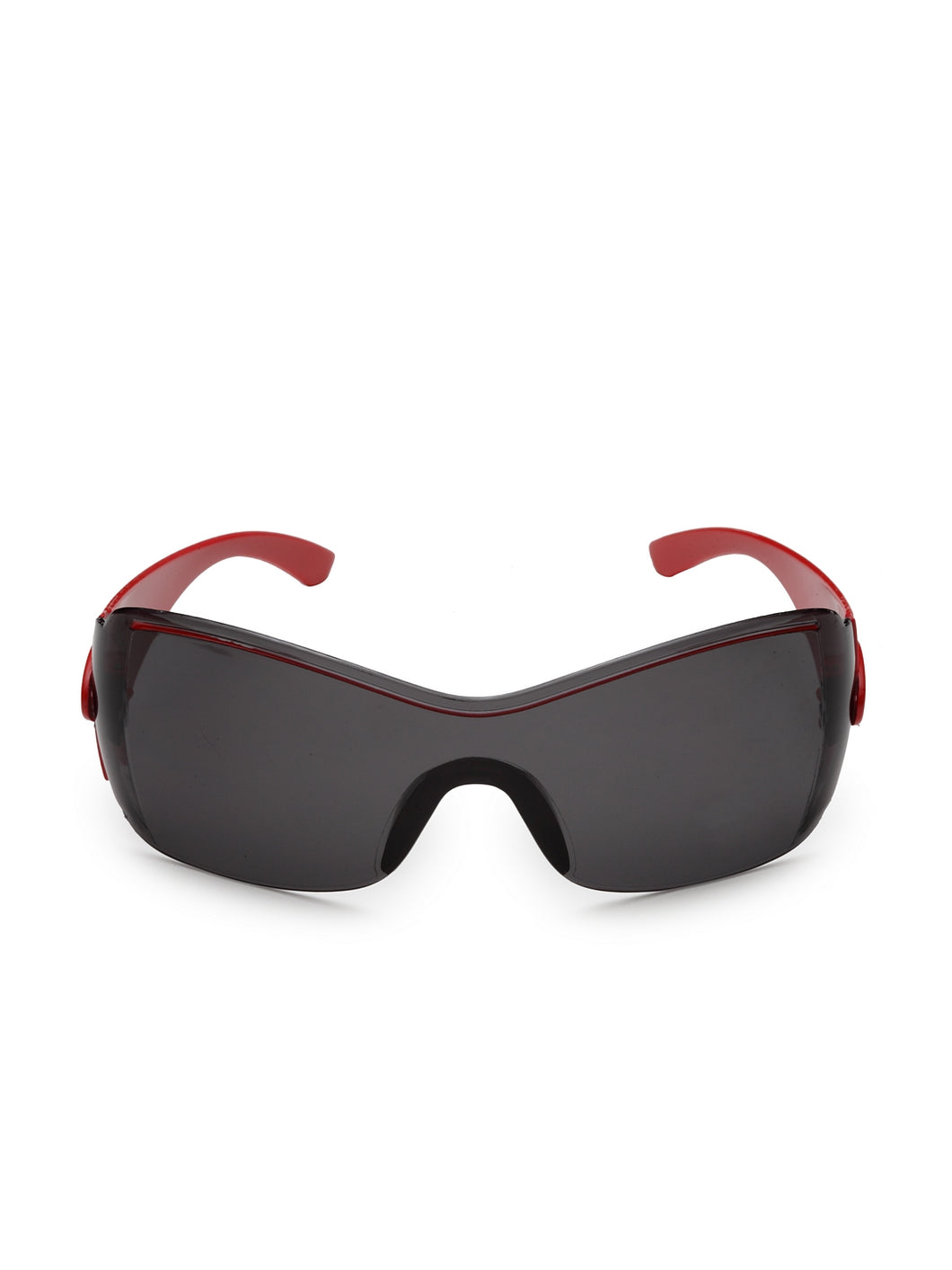 Stol'n Premium Attractive Fashionable UV-Protected Sports Sunglasses - Black and Red
