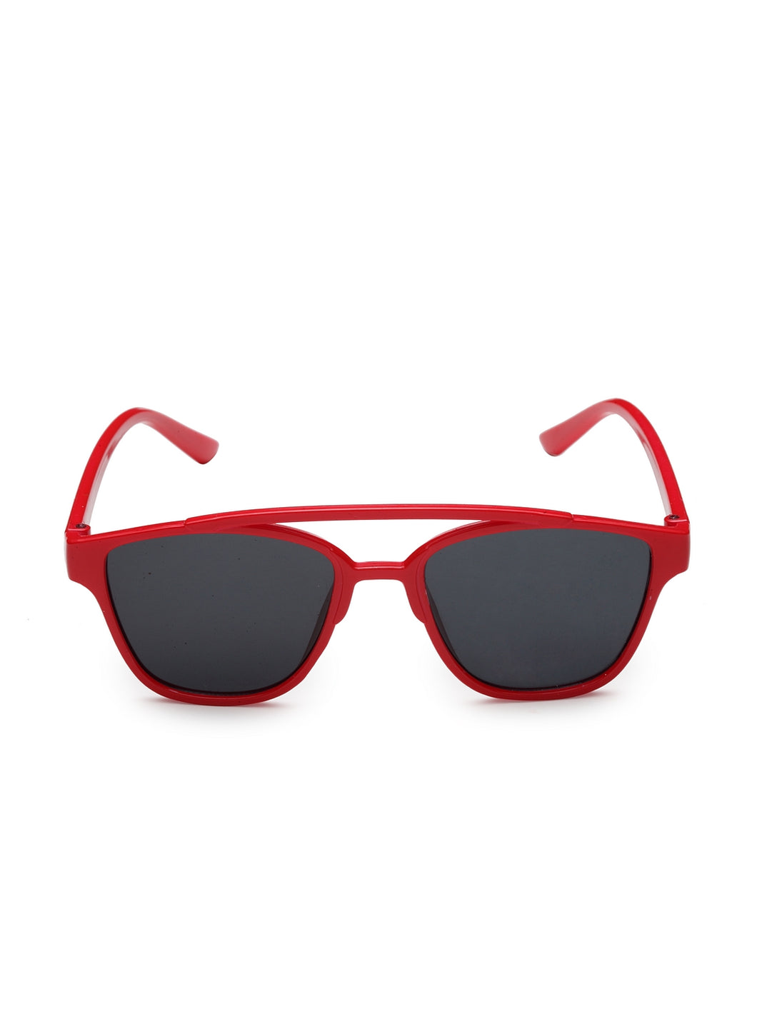 Stol'n Premium Attractive Fashionable UV-Protected Square Shape Sunglasses - Red