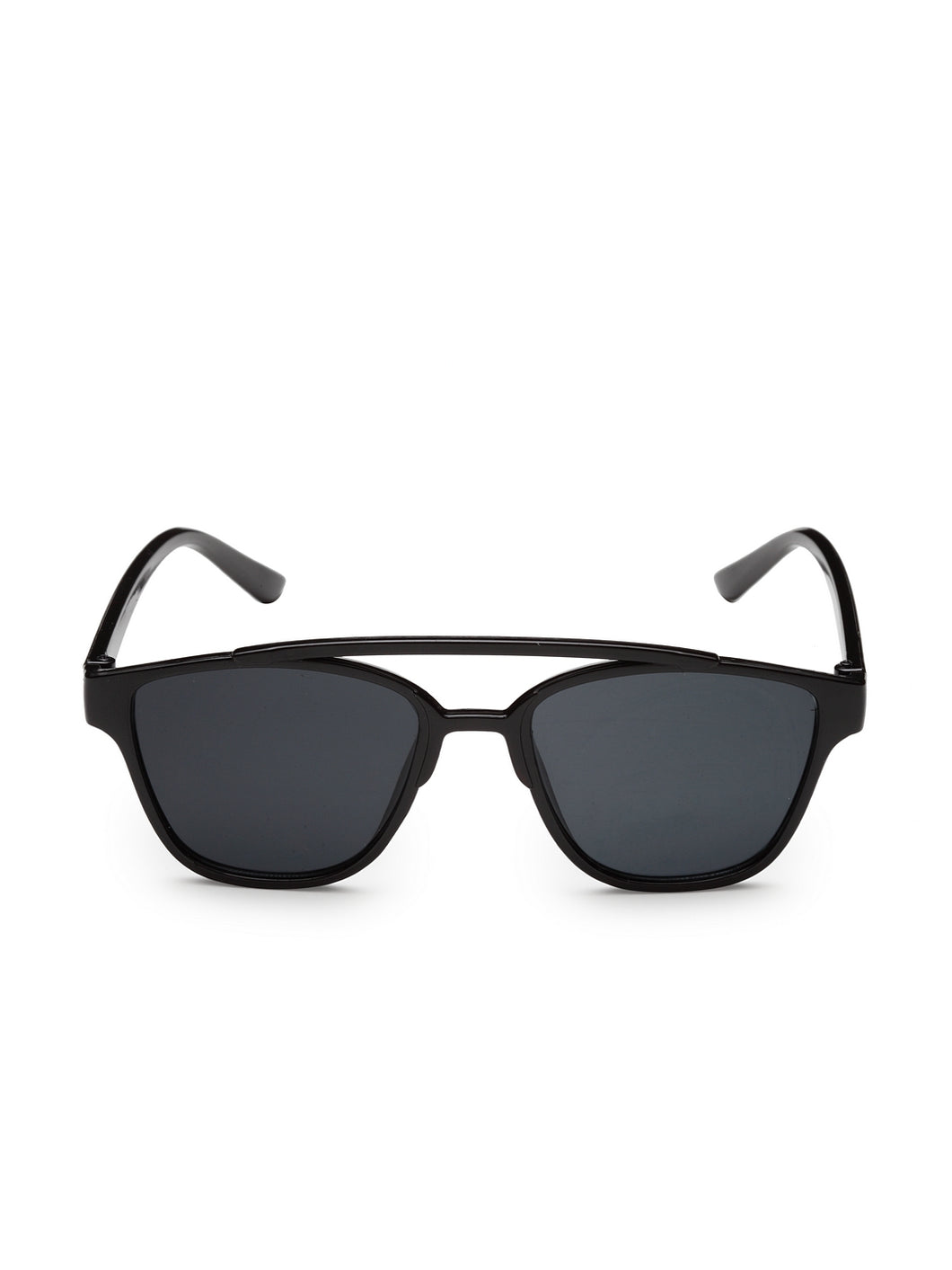 Stol'n Premium Attractive Fashionable UV-Protected Square Shape Sunglasses - Black