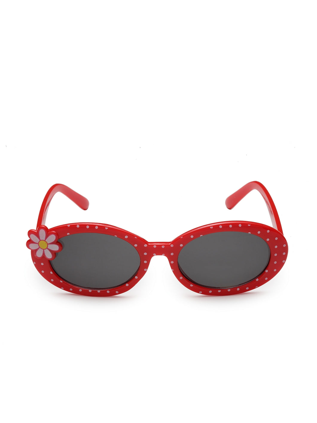 Stol'n Premium Attractive Fashionable UV-Protected Oval Shape Sunglasses - Red