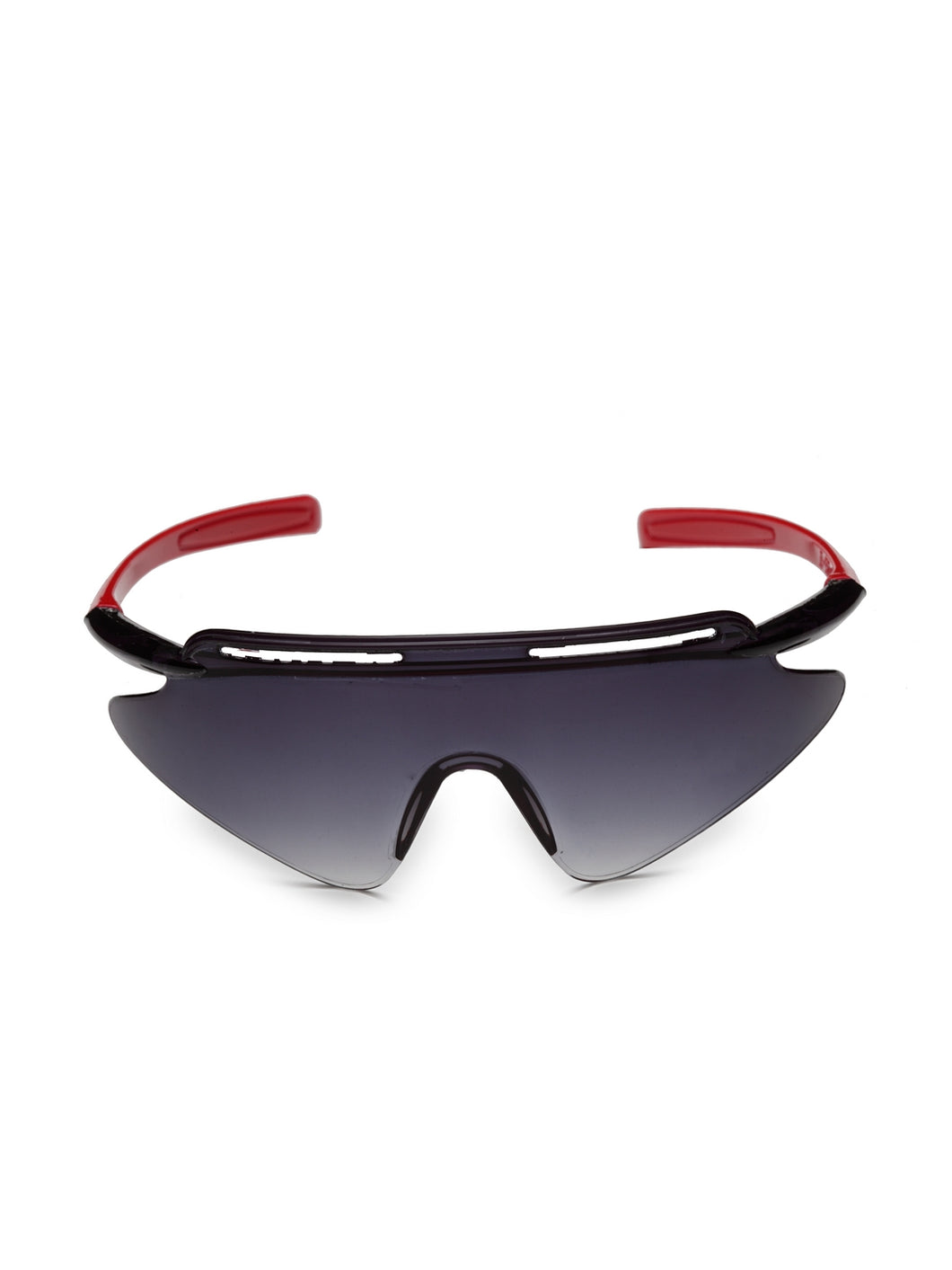 Stol'n Premium Attractive Fashionable UV-Protected Sports Shape Sunglasses - Black