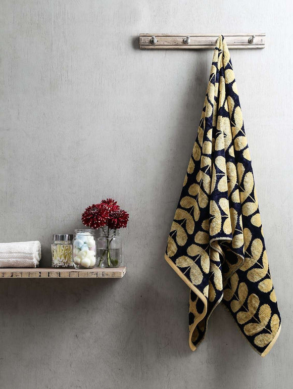 Turkish Bath Harmony Bath Towel:Yellow - SWHF