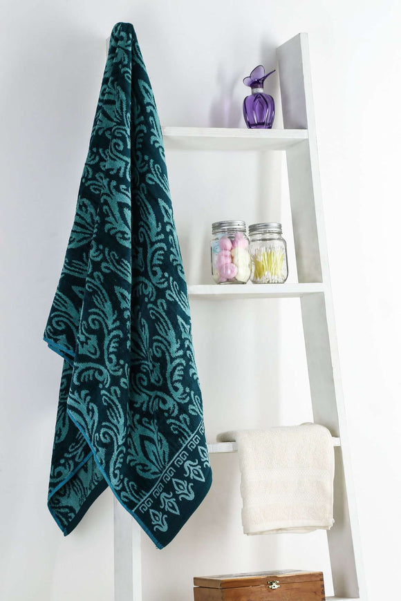 Turkish Bath Royal Aura Bath Towel : Green - SWHF