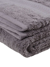 Load image into Gallery viewer, Turkish Bath Cotton 700 GSM Royal Luxury Bath Towel : Grey - SWHF
