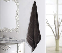 Load image into Gallery viewer, Turkish Bath Walso MS Bath Towel : Black - SWHF