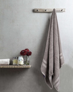 Turkish Bath Walso MS Bath Towel : Grey - SWHF