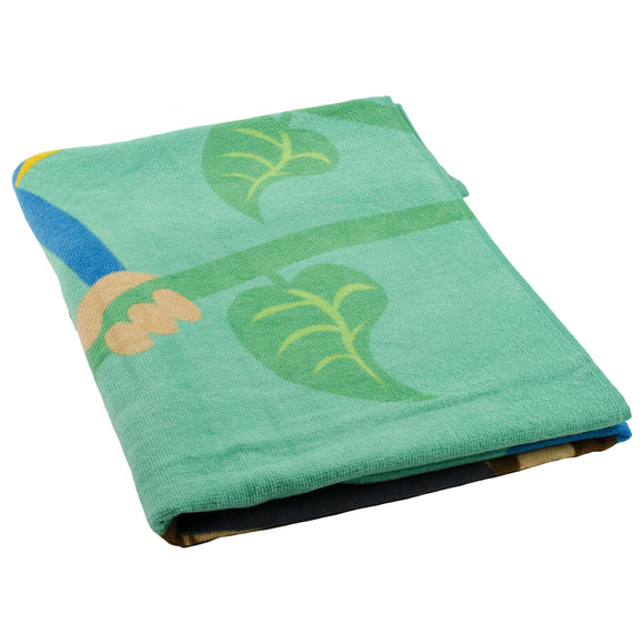 Turkish Bath Kids Printed 350 GSM Large Bath Towel:Cartoon - SWHF