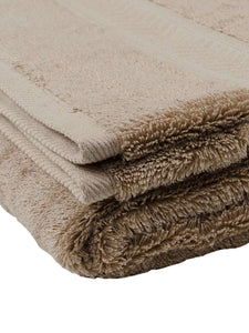 Turkish Bath Cotton 700 GSM Royal Luxury Bath Towel : Beige - SWHF