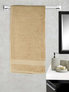 Turkish Bath Cotton 700 GSM Royal Luxury Bath Towel : Mustard - SWHF