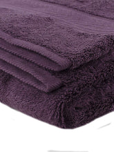 Load image into Gallery viewer, Turkish Bath Cotton 700 GSM Royal Luxury Bath Towel : Purple - SWHF