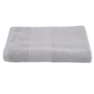 Turkish Bath Premium Cotton Belk Solid Bath Towel : Light Grey - SWHF