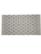 Load image into Gallery viewer, Chic Home Cotton Printed Extra Large Floor Rug (Grey) - SWHF