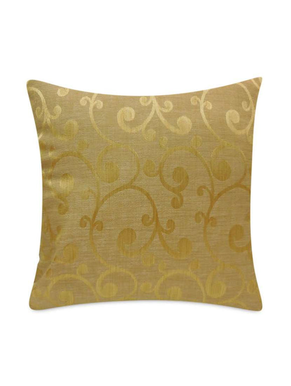 SWHF Cushion Cover: Gold Paisley - SWHF