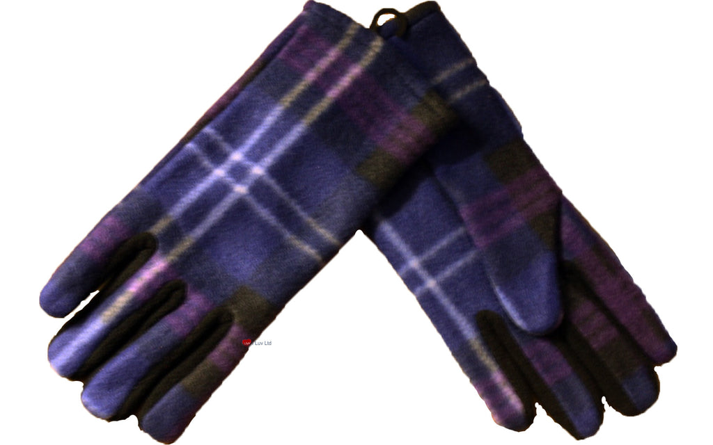 Ladies Tartan Gloves Heritage of Scotland