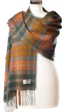 Cashmere Stole in Buchanan Antique Tartan