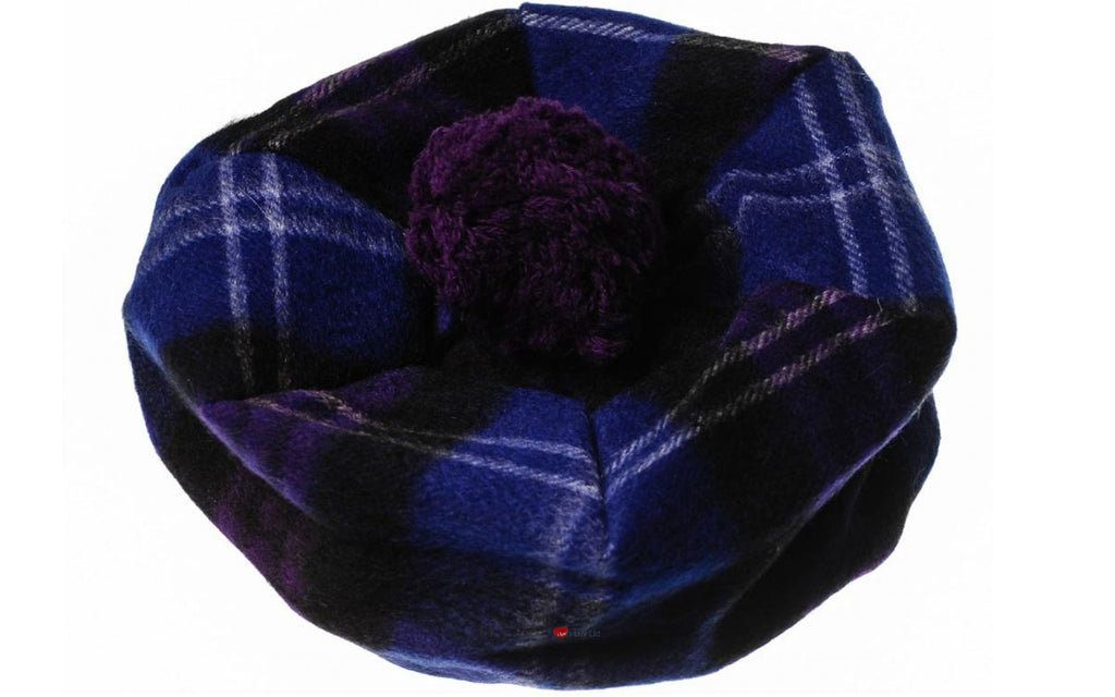 Lambswool Tammy Hat in Heritage of Scotland Tartan