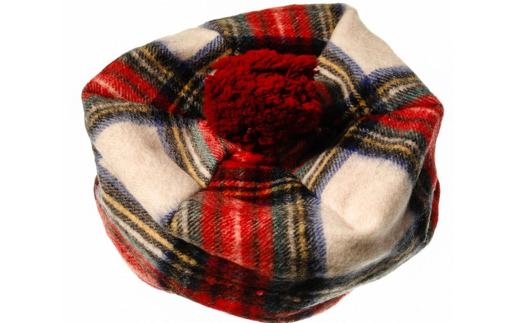 Lambswool Tammy Hat in Stewart Dress Tartan