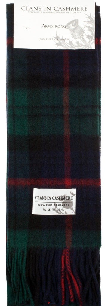 Cashmere Clan Scarf Armstrong Modern