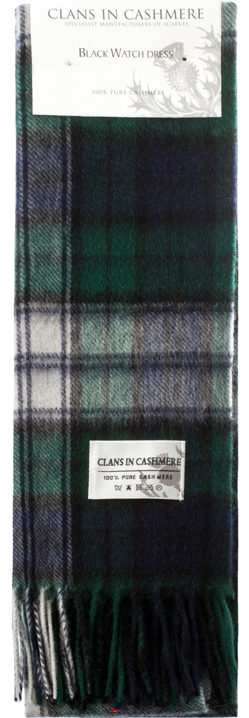Cashmere Clan Scarf Black Watch Dress Modern