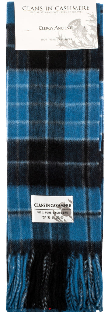 Cashmere Clan Scarf Clergy Ancient
