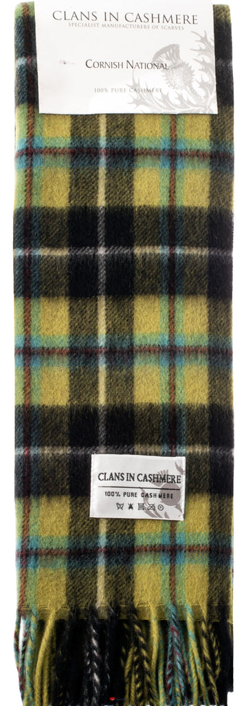 Cashmere Clan Scarf Cornish National