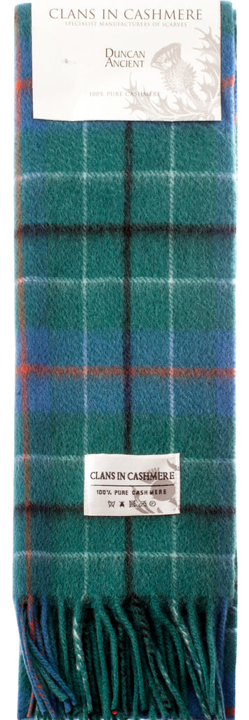 Cashmere Clan Scarf Duncan Ancient