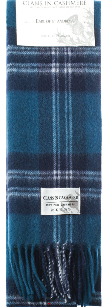Cashmere Clan Scarf Earl of St Andrews