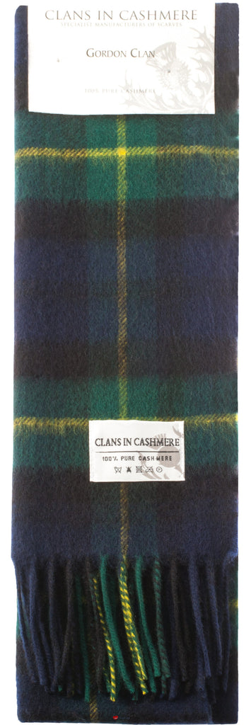 Cashmere Clan Scarf Gordon Clan Modern