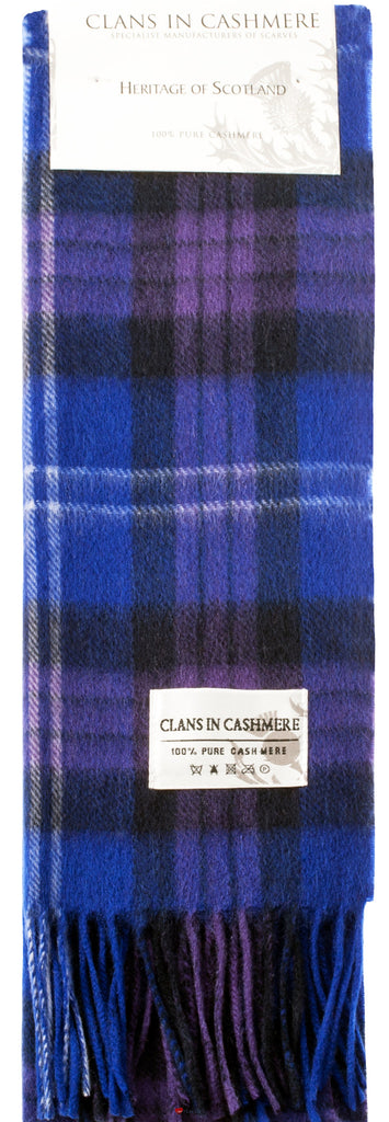 Cashmere Clan Scarf Heritage of Scotland