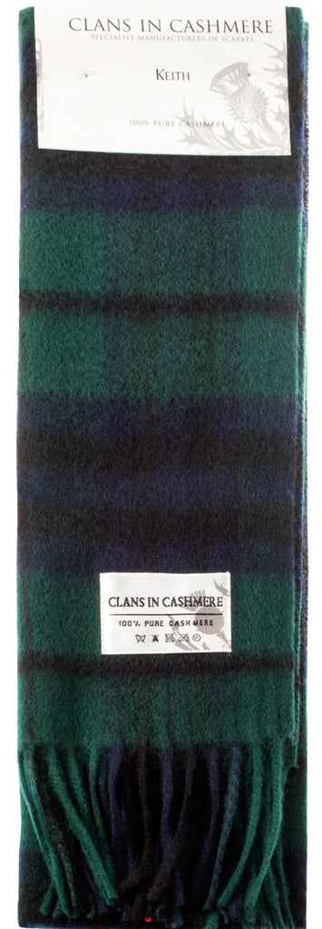Cashmere Clan Scarf Keith Modern