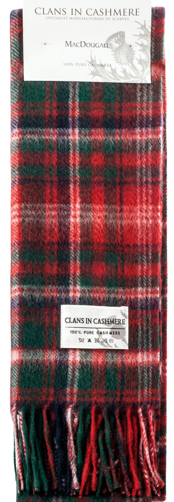 Cashmere Clan Scarf MacDougall Modern